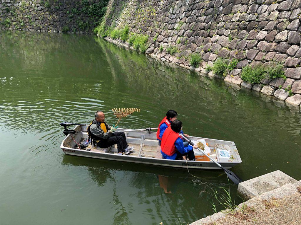 大阪城 大阪城トライアスロン お濠 水質浄化